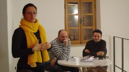 predstavljanje Srđana Srdića, prvoga dobitnika nagrade Edo Budiša u Kući za pisce