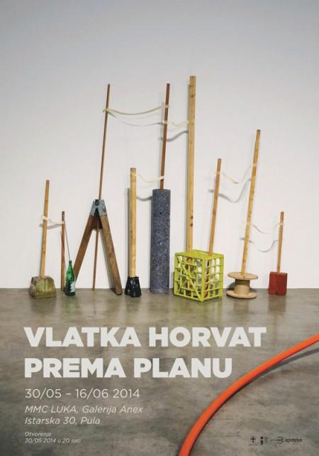Plakat Vlatka Horvat