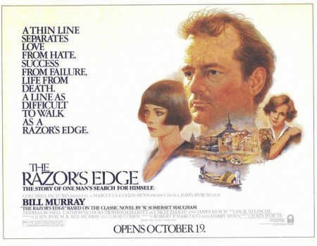 1984-the-razors-edge poster