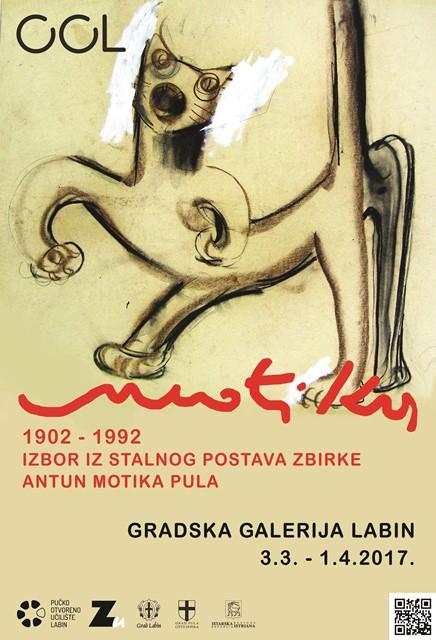 Motika 1902-1992_plakat izložbe
