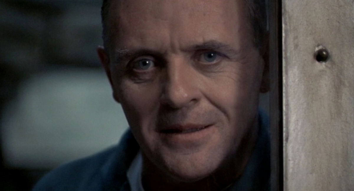 Anthony Hopkins as Dr. Hannibal ?The Cannibal? Lecter in the 1991 film ?Silence of the Lambs.? Photo Courtesy: MGM Home Entertainment