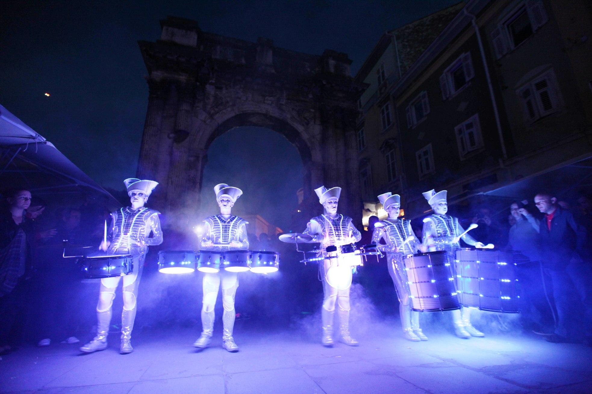 Spark! Led Drummers_Visualia Festival 2014_slaven radolovic