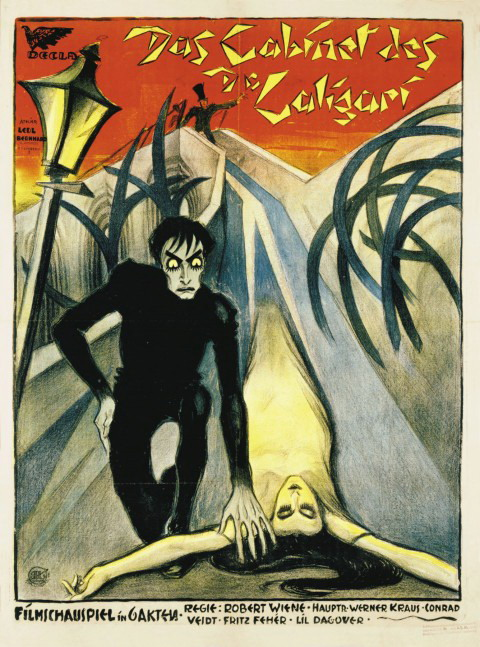 Cabinet-Of-Dr.-Caligari poster