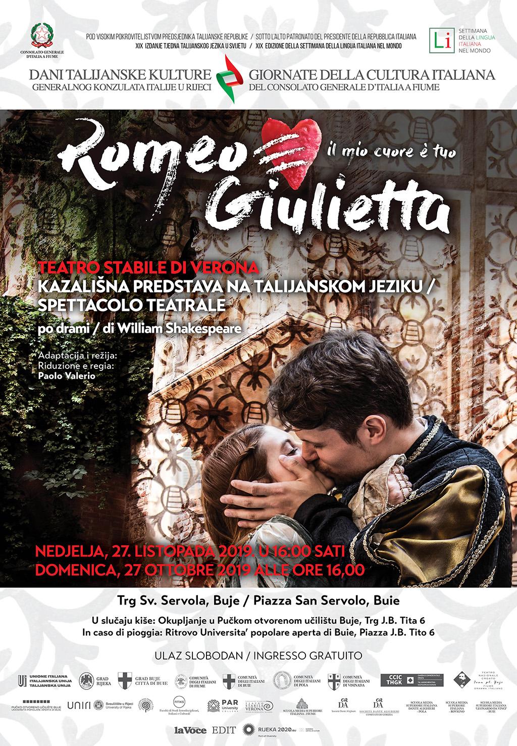 """""""Romeo i Julija"""" u Bujama"""