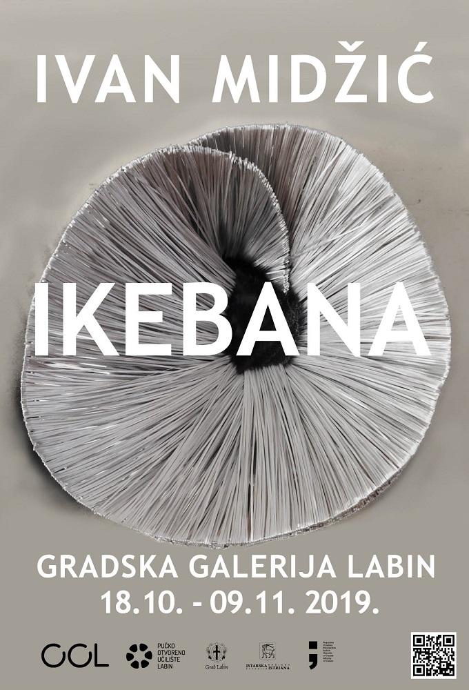 """Izložba """"Ikebana"""" Ivana Midžića u GRADSKOJ GALERIJI LABIN"""