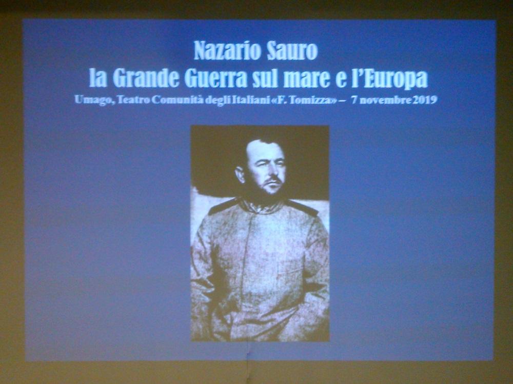 """Predstavljanje knjige """"Nazario Sauro: priča o jednom mornaru"""" u Umagu"""