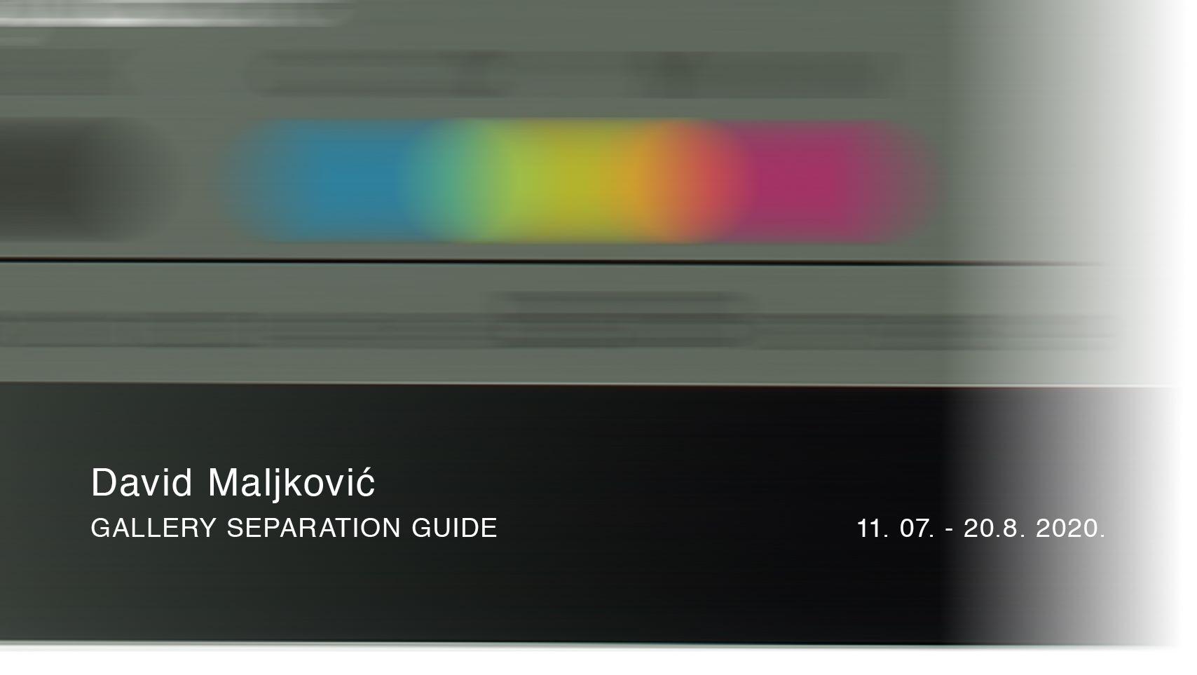 """Izložba Davida Maljkovića """"Gallery Separation Guide"""" u vodnjanskoj Apoteci"""