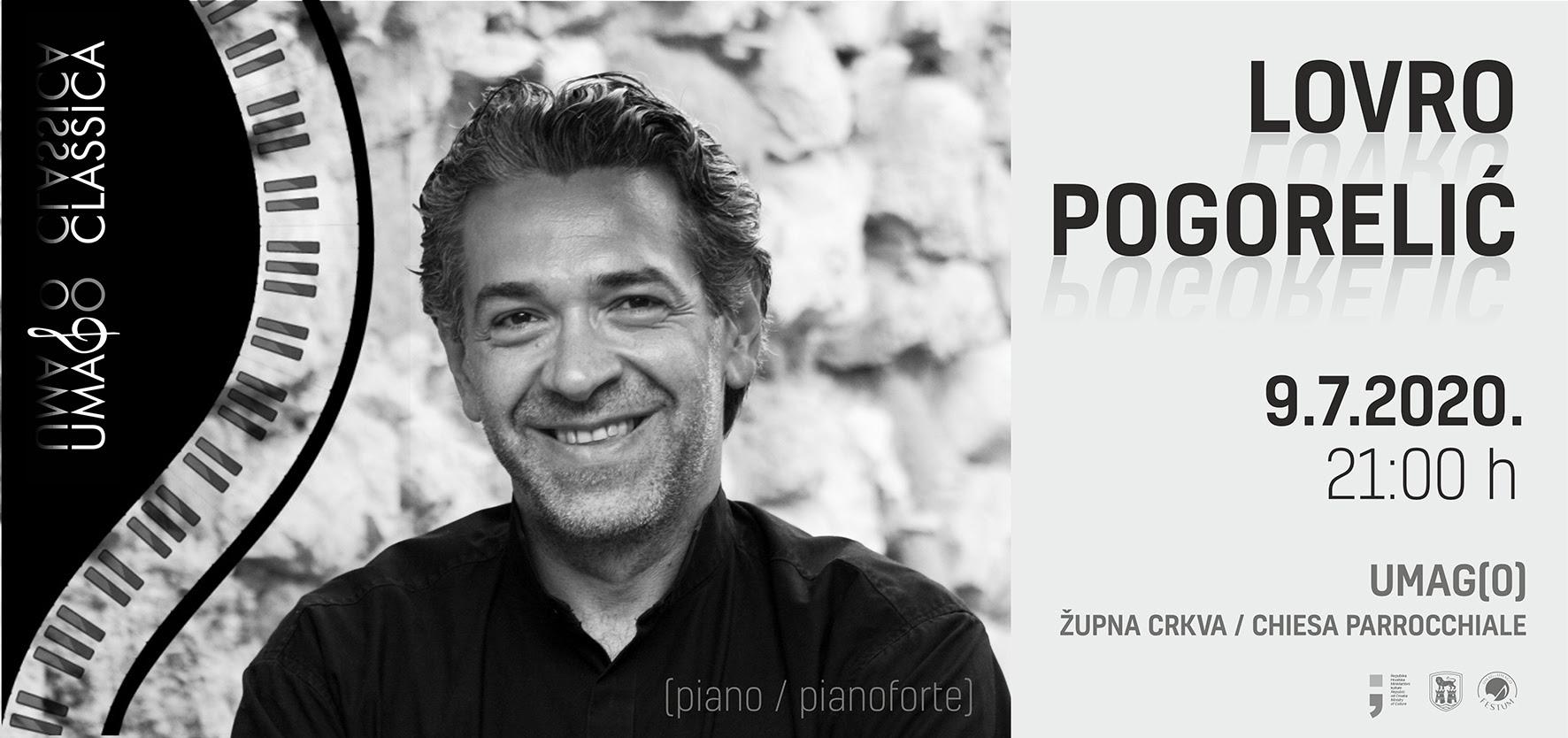 UMAGO CLASSICA: Koncert Lovre Pogorelića u Župnoj crkvi