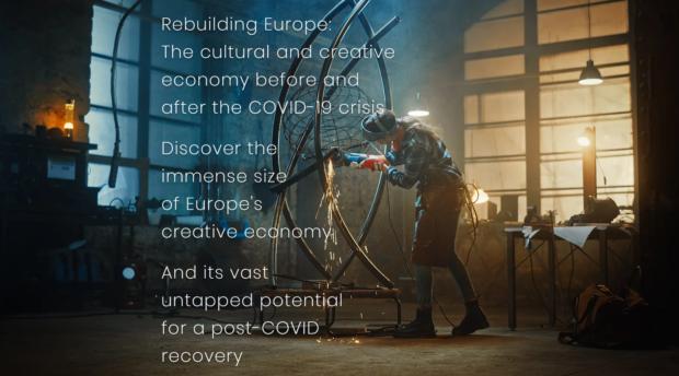"""Objavljena studija """"Kulturne i kreativne industrije EU prije i nakon COVID19"""""""