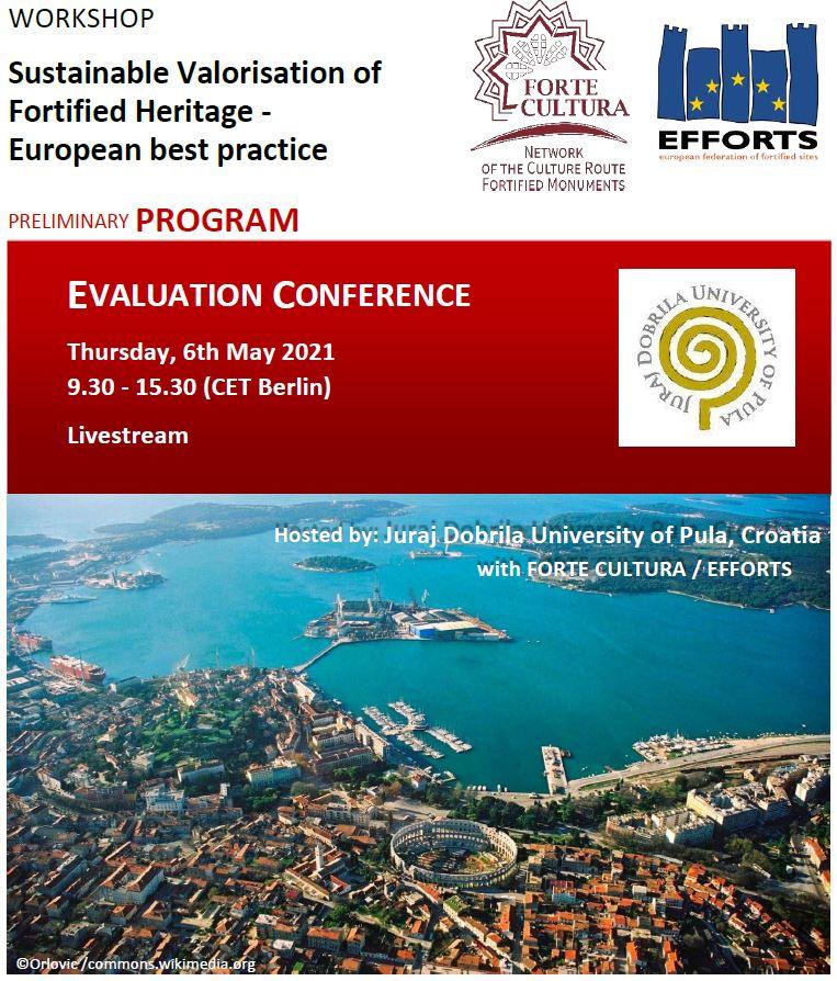 Međunarodna konferencija o valorizaciji europske fortifikacijske baštine u Puli