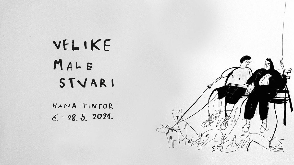 "Izložba Hane Tintor ""VELIKE MALE STVARI"" u HUIU galeriji"