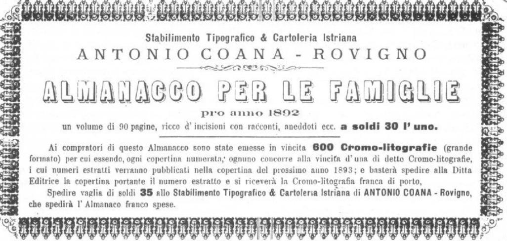 Risultato immagini per tipografia Coana